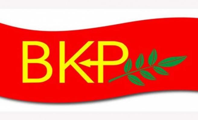 """BKP: """"Doğu Akdeniz'de artan gerginlikten endişe duyuyoruz"""""""