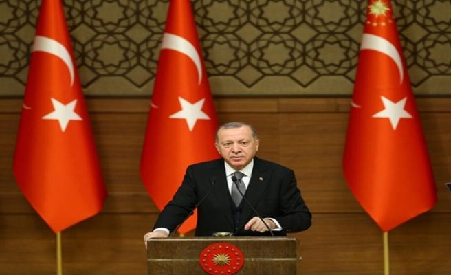 """Erdoğan: """"Bugün Doğu Akdeniz ile gündeme gelmemiz, sabrın, gayretin, inancın sonucudur"""""""