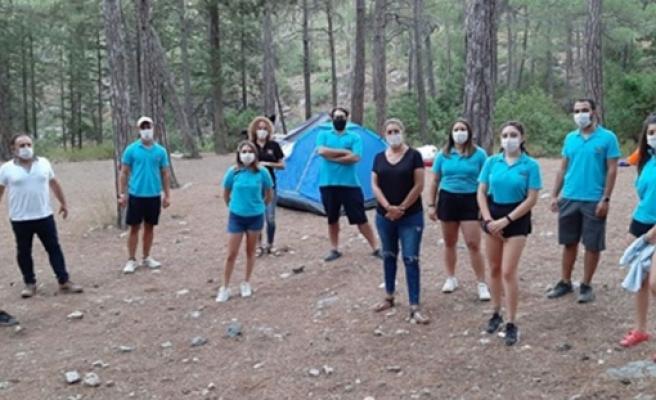 """Gençlik Dairesi Gönüllü Liderleri """"Temiz Bırak"""" etkinliği gerçekleştirdi"""