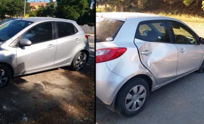 Hamile kadına araba çarptı, ikizlerinden birini kaybetti…