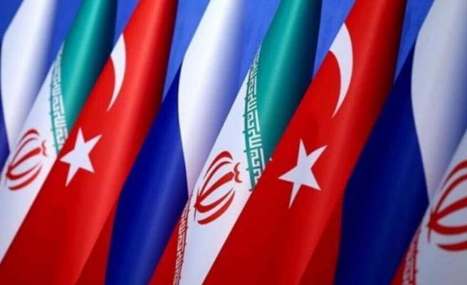 İran, Rusya ve Türkiye'den ortak açıklama