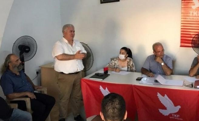 İskele'de TKP-YG İlçe Başkanlığı'na Kemal Yıldız seçildi