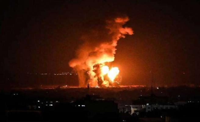 İsrail'den Gazze'ye üçüncü hava saldırısı