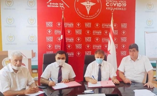 Kuzey Kıbrıs Türk Kızılayı İle Sağlık Bakanlığı protokol imzaladı