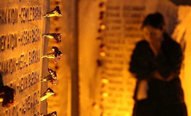 Marmara depreminin 21. yılı... Yaşamını yitirenler törenle anıldı