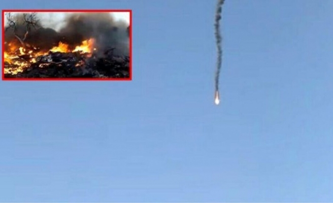 Suriye'de 2 Rus keşif uçağı düşürüldü, Rus general öldürüldü