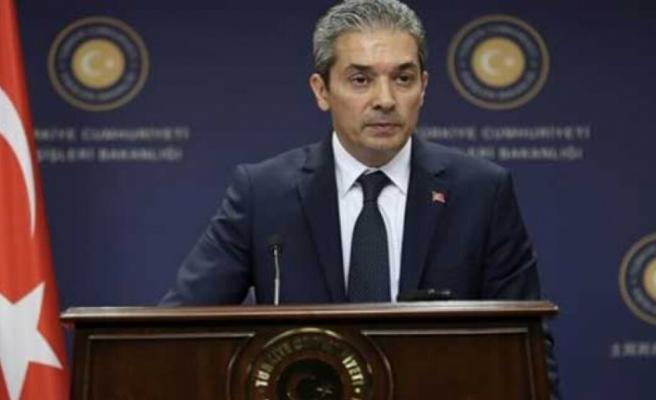 """TC Dışişleri: """"AB, itidal çağrılarını Yunanistan ve Güney Kıbrıs'a yapmalı"""""""