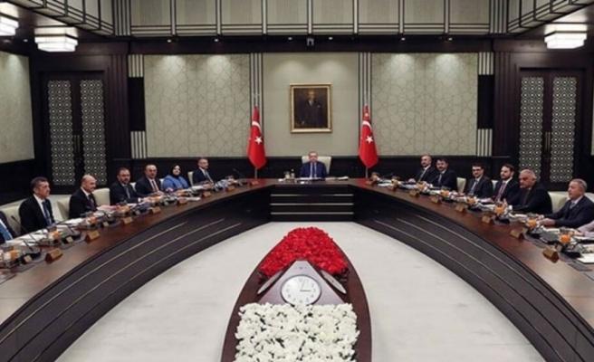 Türkiye'de kabine toplanıyor: Doğu Akdeniz'deki gelişmeler de masada