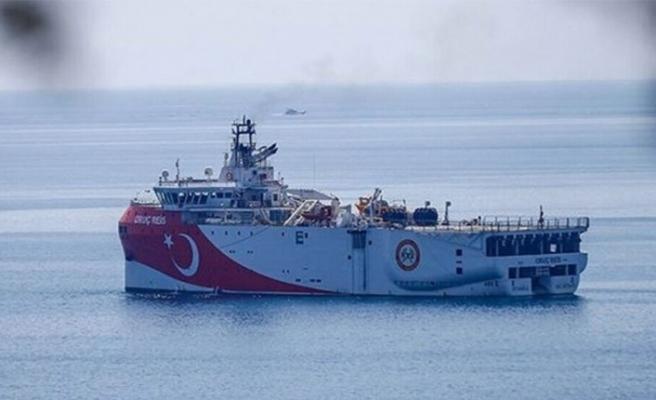 Türkiye'den yeni Navtex: Oruç Reis'in Kıbrıs açıklarındaki çalışma süresi uzatıldı