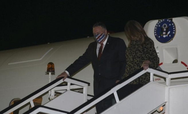 ABD Dışişleri Bakanı Pompeo Selanik'te, gündemde Atina ile Ankara arasındaki gerilim var