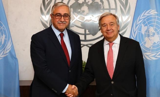 Akıncı, Guterres ile video konferans görüşmesi yapacak