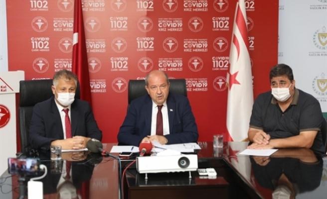 """Başbakan Tatar: """"Türkiye Ve İngiltere Dahil B Kategorisi Ülkelerden Gelecekler 7 Gün Karantinaya Girecek"""""""