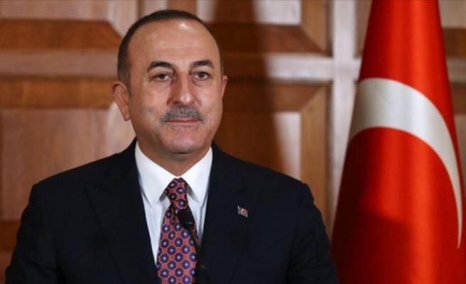 Çavuşoğlu'ndan Aliyev'e Doğu Akdeniz teşekkürü