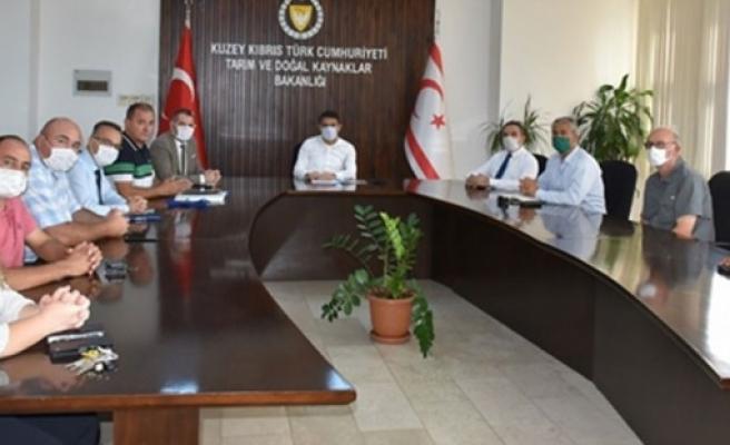 Tarım ve Doğal Kaynaklar Bakanı Oğuz, Zeysan Başkan ve üyeleriyle görüştü