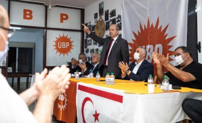 """Tatar: """"Bu seçim KKTC ve UBP'nin geleceği için önemlidir"""""""