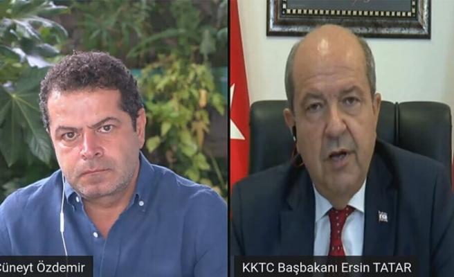 """Tatar: """"Ersin Tatar Hükümetinin ilk açıklaması, Maraş Projesiydi"""""""