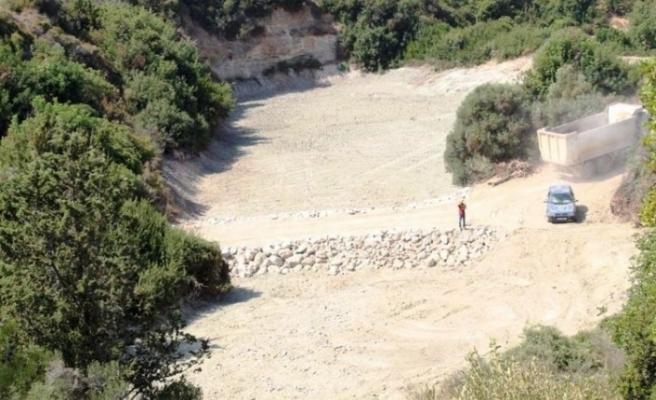 Tatlısu'da iki gölet yıllar sonra aktif hale getirildi