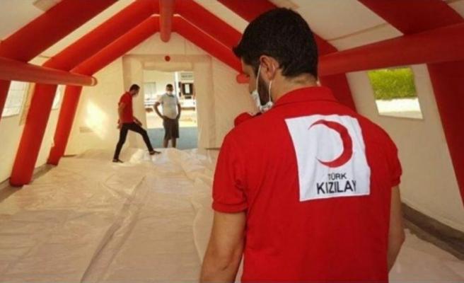 Türk Kızılay, Kıbrıs Türk Halkı'nın yanında olmaya devam ediyor