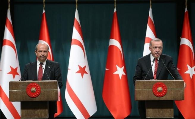 Başbakan Tatar, Türkiye Cumhurbaşkanı Erdoğan ile görüşecek