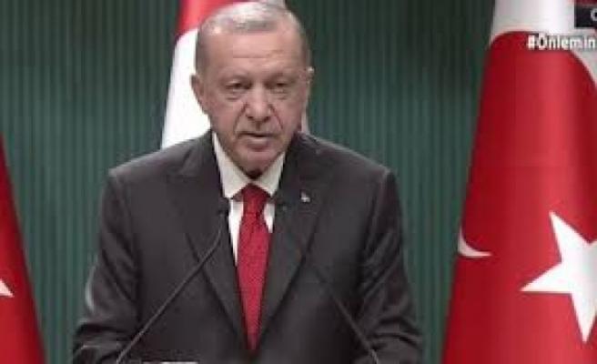 Erdoğan:Mevcut parametrelerle çözüm olmaz