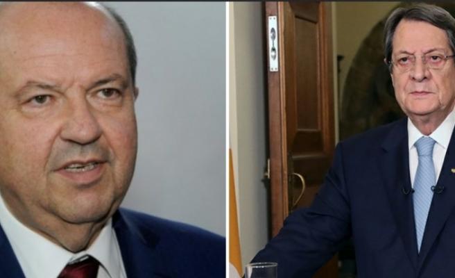 Güney Kıbrıs Rum Yönetimi Lideri Anastasiadis'ten KKTC Cumhurbaşkanı Ersin Tatar'a tebrik