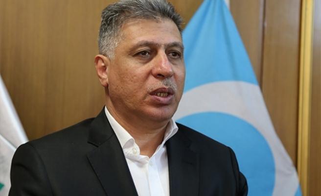 Irak Türkmen Cephesi Başkanı Erşat Salihi'den Tatar'a tebrik mesajı