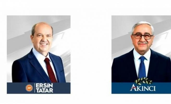 Oy pusulasında 1'inci sırada Tatar, 2'nci sırada Akıncı yer alacak
