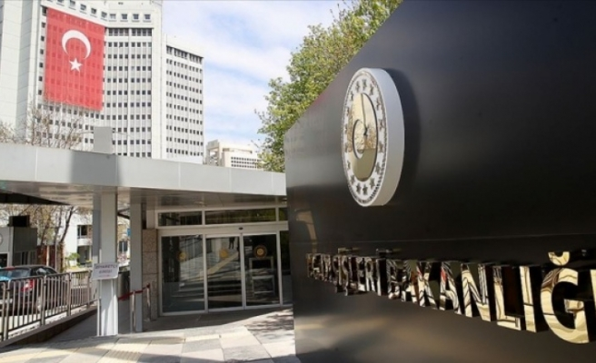 TC Dışişleri:AB'nin Türkiye kararları gerçeklikten kopuk
