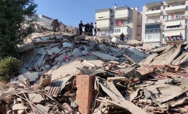 TC İçişleri Bakanı Soylu: Bornova ve Bayraklı'da 6 bina yıkıldı