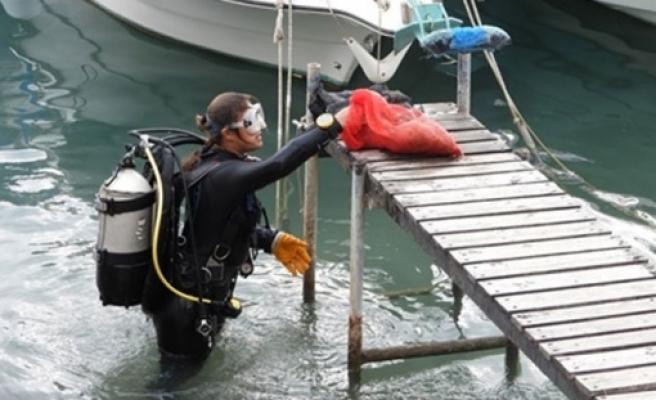 Balıkçı barınaklarında dip temizliği