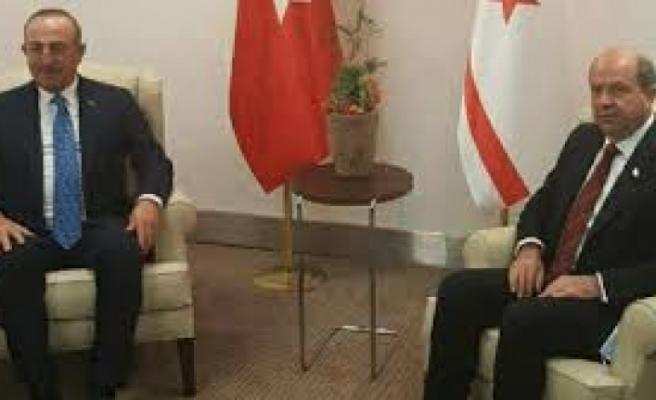 Cumhurbaşkanı Tatar, TC Dışişleri Bakanı Çavuşoğlu ile telefonda görüştü