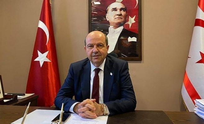 Cumhurbaşkanı Tatar UBP Genel Sekreteri ve Genel Başkan Vekili Saner'i kabul etti