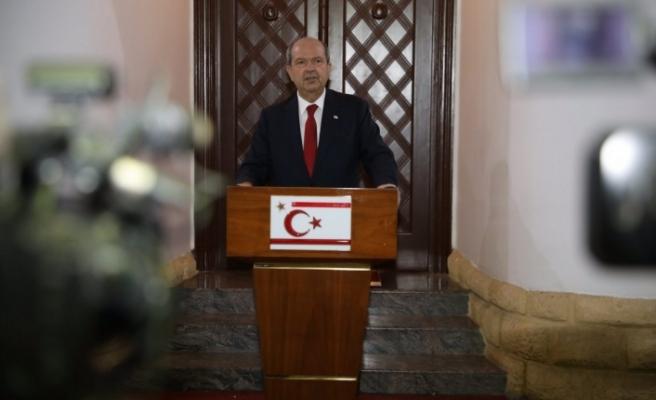 Cumhurbaşkanı Tatar:Biz masaya kalıpların dışında yeni fikirler koymanın zamanının geldiğine inanıyoruz