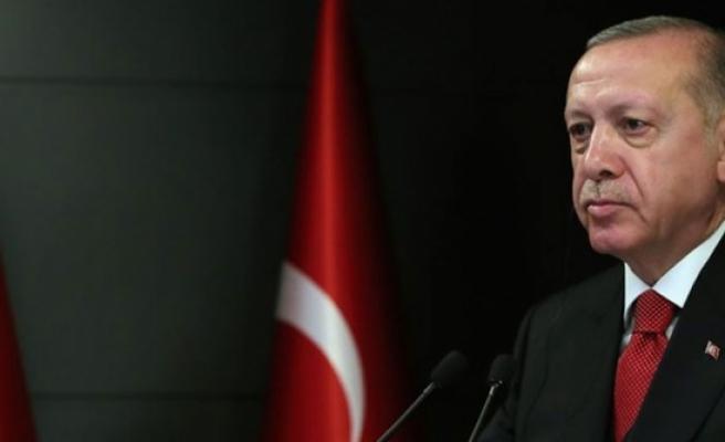 Erdoğan:Doğu Akdeniz'deki her türlü gelişmenin yükünü taşıyan ülkemizin, doğal kaynaklar söz konusu olduğunda yok sayılmasına rıza gösteremezdik