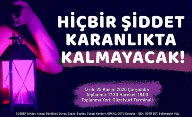 Güzelyurt'ta yarın kadına yönelik şiddete karşı yürüyüş yapılıyor