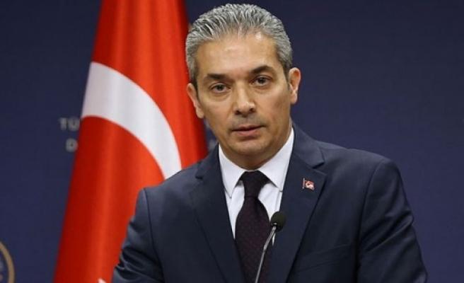 TC Dışişleri Bakanlığı Sözcüsü Aksoy: AB, Kıbrıs Türk halkının çözüm iradesini reddetme cüretini göstermekte
