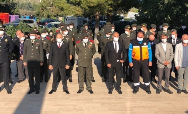 21-25 Aralık Milli Mücadele ve Şehitler Haftası Lefke'de düzenlenen törenle anıldı