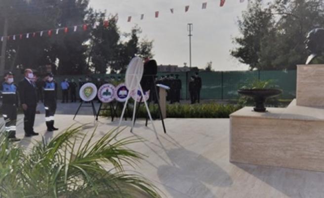 21-25 Aralık Milli Mücadele ve Şehitler Haftası nedeniyle Değirmenlik'te tören