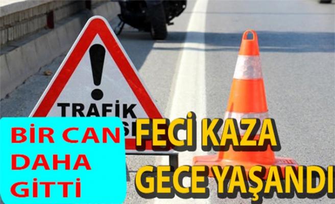 Akdoğan – Yiğitler yolu üzerinde ölümlü kaza: 25 yaşındaki genç yaşamını yitirdi