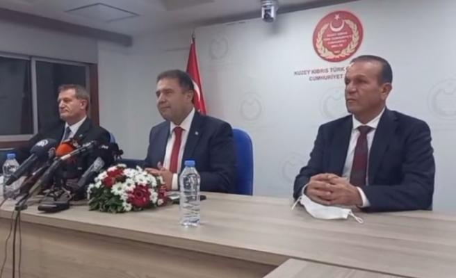 Başbakan Saner ve hükümet ortakları Ankara'ya gidiyor