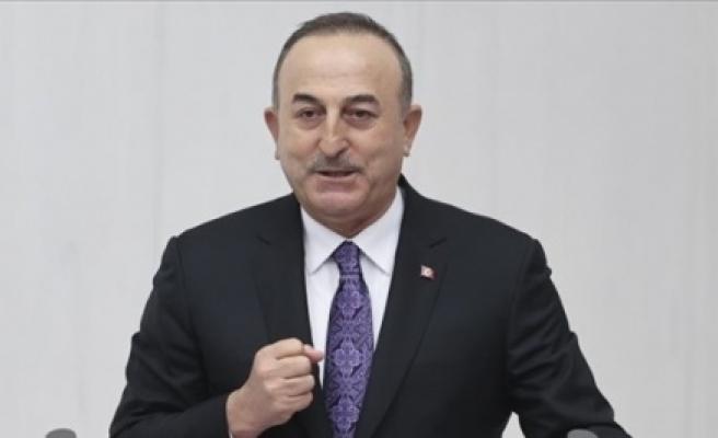 Çavuşoğlu: Doğu Akdeniz'deki hak ve menfaatlerimizden vazgeçmemiz söz konusu olamaz