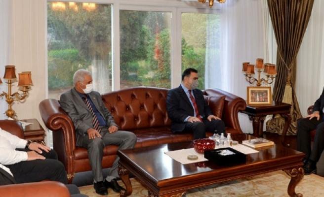 Cumhurbaşkanı, Kuzey Kıbrıs Türk Kızılayı heyetini kabul etti