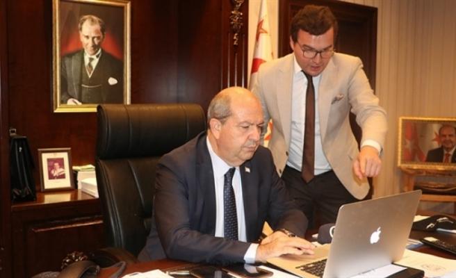 """Cumhurbaşkanı Tatar AA'nın """"Yılın Fotoğrafları"""" oylamasına katıldı"""