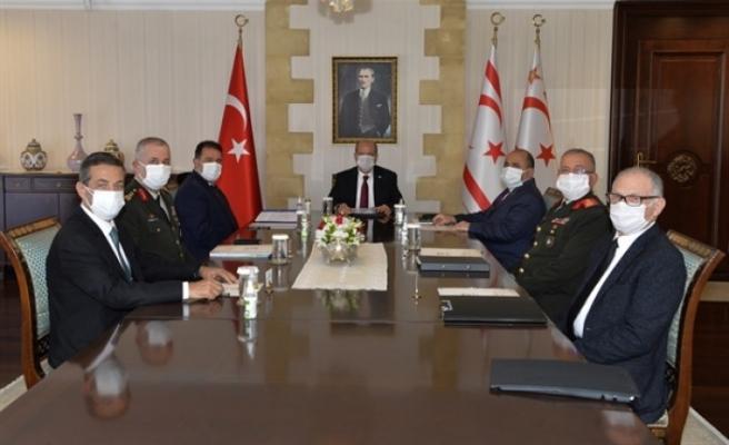 Cumhurbaşkanlığı'nda Üst Düzey Değerlendirme Toplantısı
