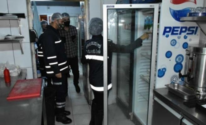 Girne'de 6 işletme mühürlendi