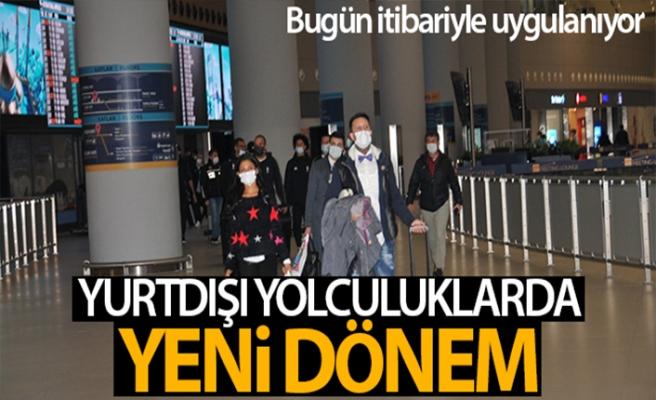 KKTC'den Türkiye'ye ilk PCR testli yolcular gitti