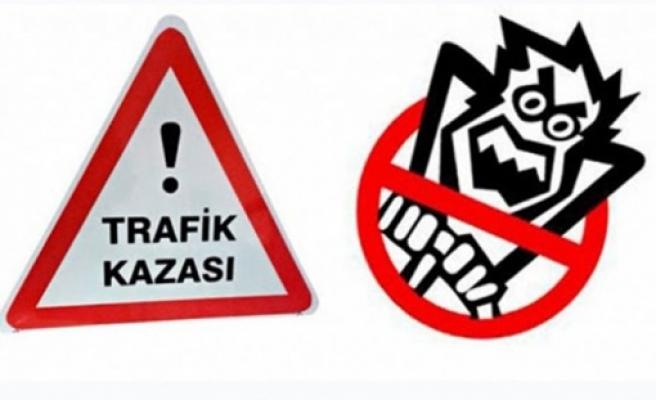 Lefkoşa'da Korkutucu Trafik Kazası