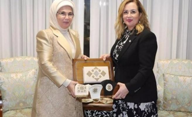 Sibel Tatar'dan Emine Erdoğan'a teşekkür mesajı...