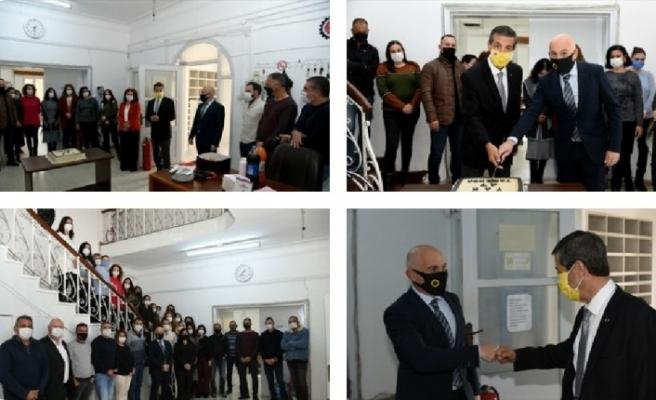TAK'ta kuruluş yıldönümünün kutlandığı etkinliğe Dışişleri Bakanı Ertuğruloğlu da katıldı