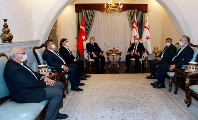 Tatar, Vakıflar İdaresi Başkan ve yönetim kurulu üyelerini kabul etti